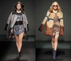 Custo Barcelona 2013-2014 Fall Winter Womens Runway Collection