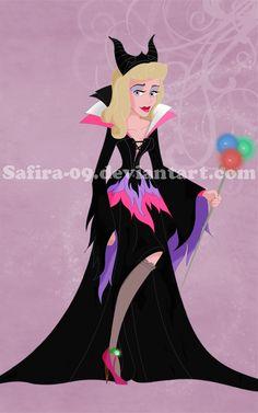 Villain-Princess 5 : Aurora by Safira-09.deviantart.com