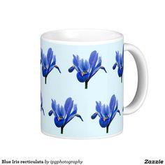 Blue Iris recticulata Coffee Mug
