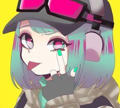 Pin by ketnipp on illustration Rainbow Six Siege Anime, Rainbow Six Siege Memes, Rainbow 6 Seige, Arte Do Kawaii, Kawaii Art, Anime Art Girl, Manga Art, R6 Wallpaper, Character Art