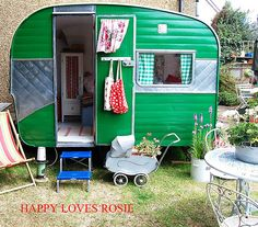 Craft room! Fantastic! holivan by HAPPY LOVES ROSIE, via Flickr