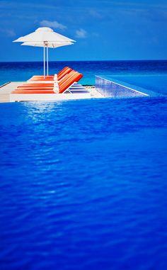 Long Blue Infinity Pool, Phuket, Thailand