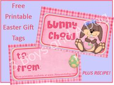 11 Free Easter Printables