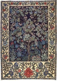 """Tree of Life"" by William Morris Wall Tapestry, Paintings"