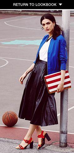 Sporty Fashion Trends Lookbook | SHOPBOP