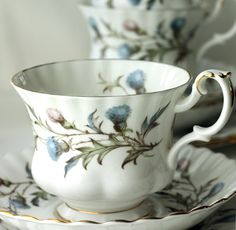 Royal Albert Brigadoon bone china tea cup
