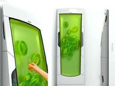 Crazy fridge - reminds me a little of Ghost Busters!