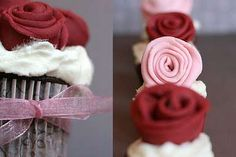 The Rose Cupcakes are a Tasty Alternative to a Bouquet of Long Stems