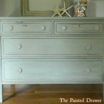 Versailles with a wash of Duck Egg Blue ASCP Suzanne Bagheri