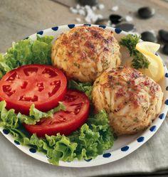 This classic recipe features fresh lump crabmeat.