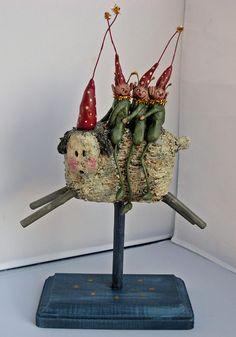 <h1<p>>BOY HOWDIE PAPIER MACHE FOLK ART by Dawn Tubbs</h1>
