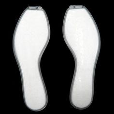 1 Pair Air Cushion Insoles Comfortable Durable Sports Running Air Cushion Pad Foot Care Shoe Insoles FM1184