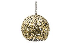 sweet, heavy-metal pendant. Imogene Brass Pendant - Pendants - Lighting | Jayson Home