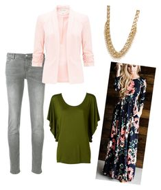 stitchfix spring style by sarahjohnson-v on Polyvore featuring polyvore fashion style Miss Selfridge Emporio Armani clothing