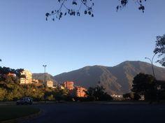 Vista del cerro El Avila en Caracas