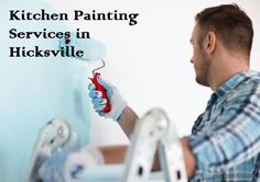 Kitchen Painting Services in Hicksville - Ferrer's Interiors!
