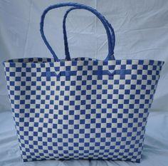 Fabulous plastic woven beach bag $25.00 each from www.facebook.com/beachbagandbeyond