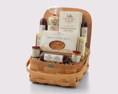 Our gifts baskets are full of delicious gourmet treats, but the baskets themselves are treasures too.