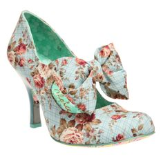 This shoe would be so cute with a cream or natural color skirt.