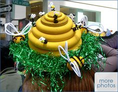 bee easter bonnet