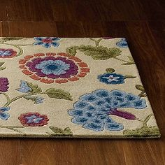Classic Floral Rug   The Company Store