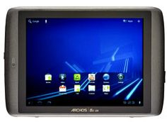PrintArchos 80 G9 (Wi-Fi, 16 GB) Summary: A 7-inch tablet with Android 3.2 and Wi-Fi. Tested with 16GB of storage. Uses the Android Market for downloading apps.