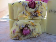 #soap Roses & Cucumber Lanolin & Coconut Cream Soap, starting at 5 in today's #Handmade Bazaar auction open now!