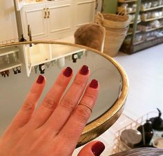 Manicure at THe Spa Kitchen in Barcelona