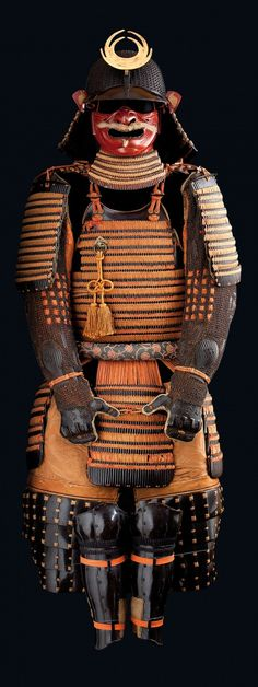 The Japanese Samurai armor dates from between 1840 and The Samurai were warrior nobles in Japanese Socitey Samurai Weapons, Samurai Helmet, Samurai Warrior, Arm Armor, Body Armor, Kendo, Japanese History, Japanese Culture, Geisha Samurai