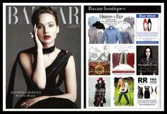 Rickety Rack in Harper's Bazaar, November 2013 November 2013, Harpers Bazaar, Blue Velvet, Cashmere, Calm, Passion, Boutique, Beauty, Cashmere Wool
