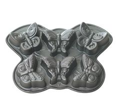 Butterfly Cakes and Cupcakes. Nordic Ware Butterfly Muffin Pan