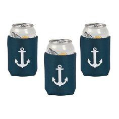 Nautical Wedding Can Covers - OrientalTrading.com