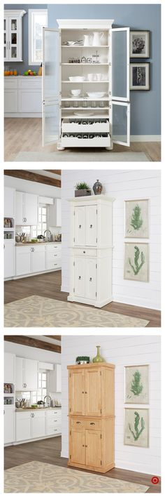 You Might Fall in Love With These Unusual Kitchen Cabinets Ideas Magnolia homes Kitchen remodel Fixer upper Laundry room ideas Joanna gaines style Butler pantry Kitchen Redo, Home Decor Kitchen, Home Kitchens, Kitchen Remodel, Kitchen Design, Interior Design Living Room, Living Room Designs, Kitchen Cabinet Storage, Kitchen Cabinets