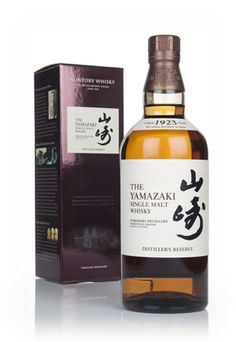 The Yamazaki Single Malt Whisky – Distiller's Reserve - Master of Malt
