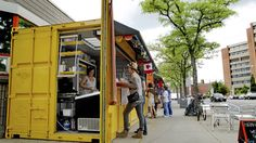 Shipping containers create retail bazaar in Toronto - Market 707.