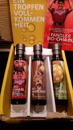 Bio-Öle von der Ölmühle Fandler im Test - der kleine Luxus für meine Küche  http://www.mihaela-testfamily.de  #Bio #Öle #Omega3 #Fandler #ÖlmühleFandler #Chia