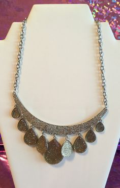 A personal favorite from my Etsy shop https://www.etsy.com/listing/276303862/bronze-tones-tear-drops-cast-chain