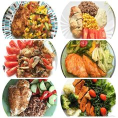 🔹Лучшее дополнение к куриному филе: 6 идей🔹   🍗1. Куриное филе запеченное в горчице + гречка + кукуруза консервированная + помидор + йогурт  🍗2. Куриное филе запеченное с помидором и грибами + помидор  🍗3. Куриное филе запеченное в специях + греча + помидор + огурец  🍗4. Куриное филе запеченное в соевом соусе + Салат (листья салата + огурчик + болгарский перец + петрушка + помидор + оливковое масло)  🍗5. Куриное филе запеченное в горчице с лимоном + салат (помидоры + огурец…