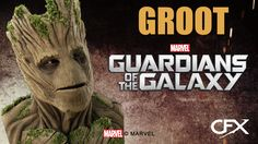 GROOT CFX Silicone Mask • Guardians of the Galaxy