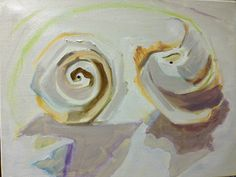 SHELLS & OBJECTS PAINTINGS - Sue Kwasnick