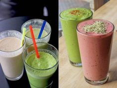 Smoothie ideas from local juice bars
