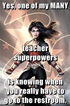 Teachers always know!