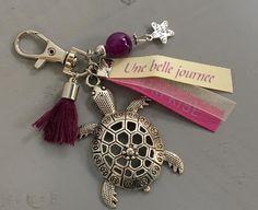 """Bijou de sac, grigri, Lili et Ma* Créations """"Une belle journée"""" : Porte clés par lili-et-ma-creations"""