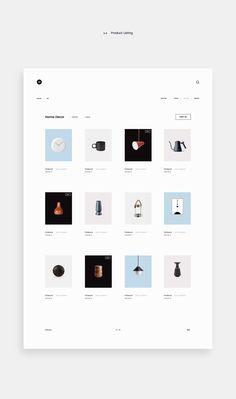 Minim E-commerce Website - Minimalist e-commerce website design with clean and easy interface - Design Blog, Website Design Inspiration, Layout Design, Best Website Design, Creative Web Design, Website Design Services, Web Layout, Web Design Trends, Web Design Company