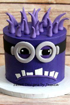 Minion Smash Cake @arjlongman