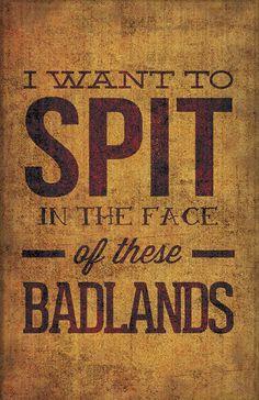 Bruce Springsteen. 'Badlands'