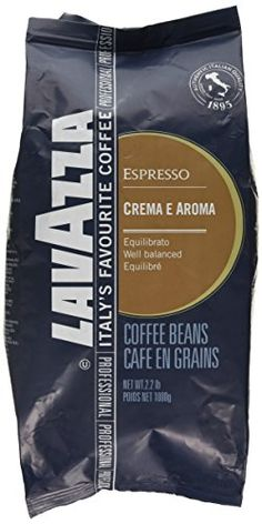 buy now   £10.99   The blue bag denotes that this product comes from the Lavazza Foodeservice range. It's slower roasted for a superior flavour profile. Not available in the supermarket.Slower roasted  ...Read More