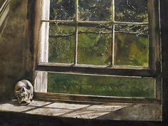 Andrew Wyeth, Untitled, 1983, The Andrew and Betsy Wyeth Collection