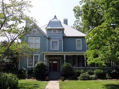 McElderry-Malone Home, c1905, Talladega, Alabama