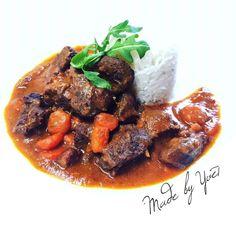 Pot Roast, Ethnic Recipes, Fitness, Red Peppers, Carne Asada, Roast Beef